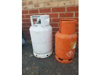 BBQ Gas Bottles x 2 13kg - collection only - FREE