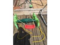 Glider swing seat