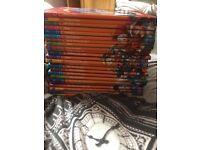 Full set of The Wonderful World of Knowledge Disney books