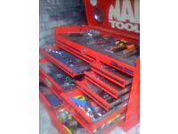 mac tool chest with tools