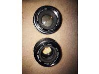 Asahi Pentax smc m1:1.7 50mm lens