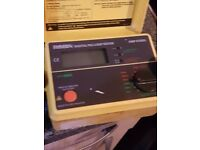 32xrobin insulation continuaty tester and 1 loop impedance tester.