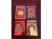 Set of books by Jacqueline Wilson