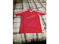 Boys Adidas football shirt age 11/12