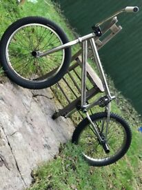 All Chrome HARO bmx bike