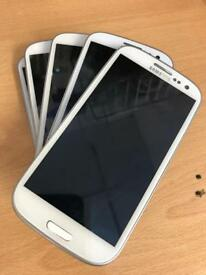 Samsung galaxy S3 White 16gb factory unlocked excellent condition