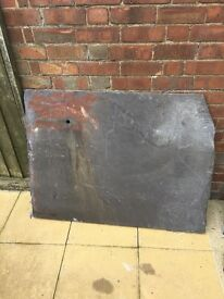 2 beautiful pieces of reclaimed slate