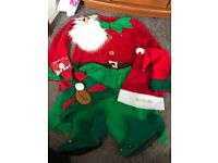 Complete Santa costume with shoes