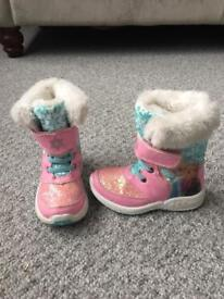 Frozen winter boots size 7