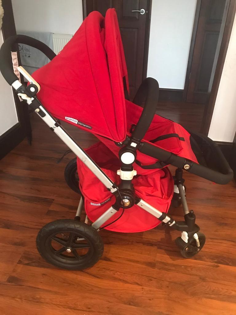 Bugaboo cameleon travel system with carrycot