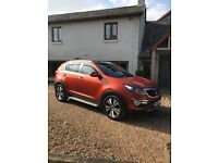Kia Sportage 1.7 CRDI DIESELEX DEMO WITH HIGH SPEC AND ONE OWNER FROM NEW