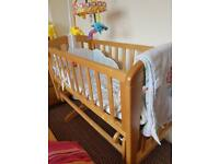 Mothercare Rocking Cot Bed
