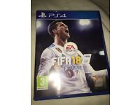 Fifa 18 PS4 great condition