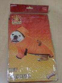 DOG FANCY DRESS COSTUME - PRISONER - NEW IN PACKAGING