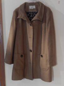 Ladies swing style coat