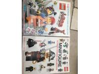 Lego sticker books brand new unused