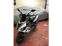 Aprilia SR50 R - 2015, one owner from new, very low mileage, garaged and in excellent condition