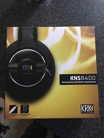 KRK KNS8400 STUDIO HEADPHONES BOXED