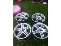 """Mercedes amg alloy wheels 19"""""""
