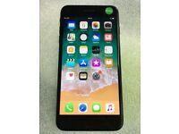 APPLE IPHONE 7 PLUS 32GB UNLOCKED BLACK WITH RECEIPT