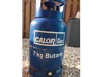 Calor gas butane bottle