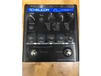 TC Helicon Voicetone Create XT vocal multieffects pedal