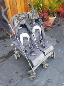 McLaren twin techno pram / stroller