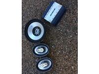 Sub amp & 6x9 car speakers