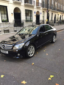 MERCEDES C200 BLUE EFFICIENCY CDI , FULL SERVICE HISTORY , IMMACULATE CONDITION, £9500 O.N.O