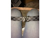 LV belt for sale genuine leather original