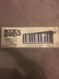 Wii Rockband 3 keyboard
