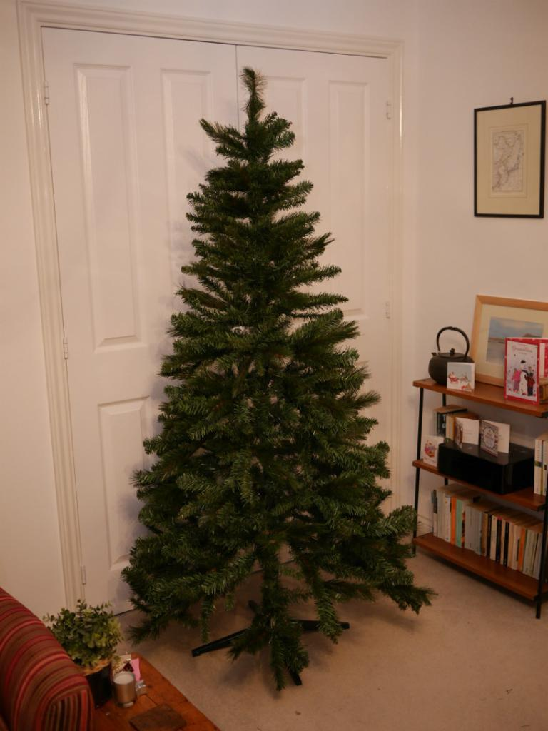 boxed 6ft homebase north star mixed tip christmas tree excelent ...