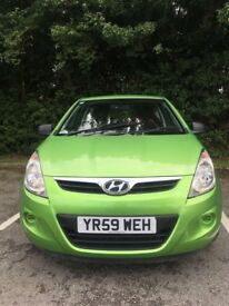 Hyundai i20 1.2 59reg only 1 previous owner