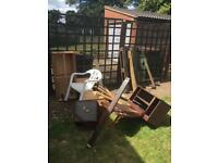 Free scrap wood including pallet
