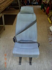 Car Seat With Belt Suitable For Back Of Van