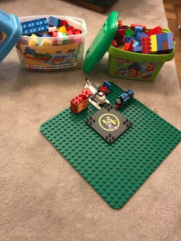 Duplo / megablocks and base