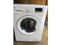 beko 8kg digital washing machine in excellent condition 1 year old ,free local delivery