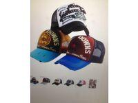 summer baseball cap Sunshade net mesh style letter simple sports hat 58CM