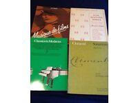 Piano Music Books x 4 (grade 3-5 level)