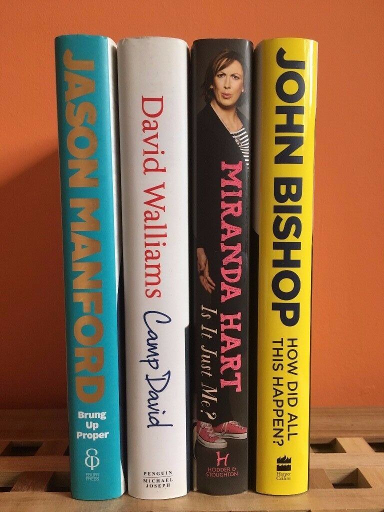 Four Biographies - Jason Manford, Miranda Hart, John Bishop, David Walliams