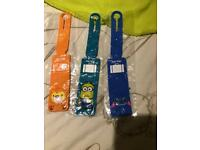 Kids luggage tags