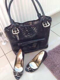 Ted baker handbag and shoes
