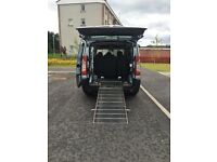 Wheelchair access car, Peugeot expert tepee 1.6 6 seater plus WC user