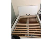 Malm double size Ikea bed