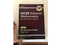 GCSE edexcel Mathematics 9-1 CGP revision guide and workbook (Higher level). With answer booklet