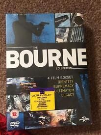 The bourne collection unopened.