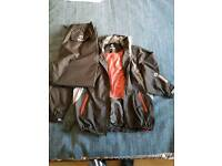 Golf sunderland waterproof jacket and trousers