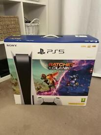 Ps5 Disc Version + Ratchet and Clank
