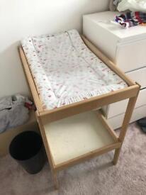 SINGLAR IKEA Baby changing table