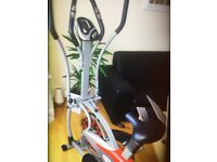Cross trainer+Ab Roller Trainer Crunch For sale